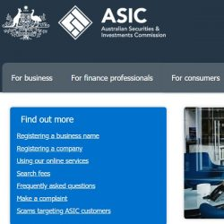 The Australian Securities and Investments Commission