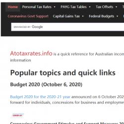 AtoTaxRates.info