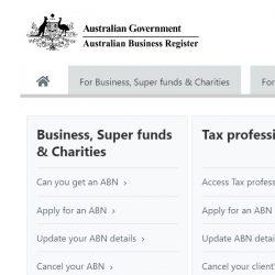 Australian Business Registrations